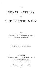 The great battles of the British navy