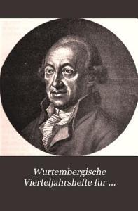 Wurtembergische Vierteljahrshefte fur Landesgeschichte Stuttgart PDF