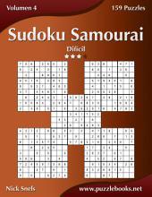 Sudoku Samurai - Difícil - Volumen 4 - 159 Puzzles