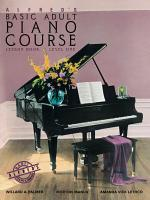 Alfred's Basic Adult Piano Course - Lesson Book 1