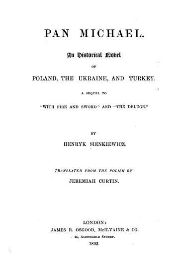 Pan Michael PDF