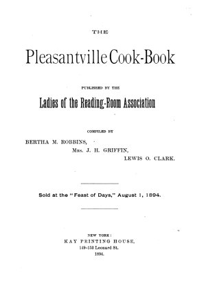 The Pleasantville Cook-book