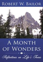 A Month Of Wonders Book PDF