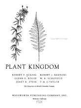 An Evolutionary Survey of the Plant Kingdom PDF