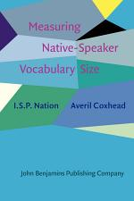 Measuring Native-Speaker Vocabulary Size