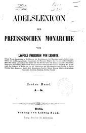 A-K. 2. L-S. 3. T-Z. Nachtrag A-Z