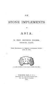 On Stone Implements in Asia