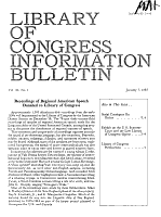 Library of Congress Information Bulletin PDF