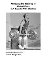 Managing the Training of Weightlifters