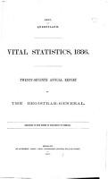 Vital Statistics PDF