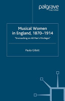 Musical Women in England  1870 1914 PDF