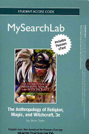 The Anthropology of Religion  Magic  and Witchcraft Passcode