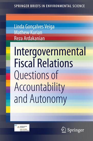 Intergovernmental Fiscal Relations PDF