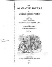 The dramatic works of William Shakespeare: Volume 3