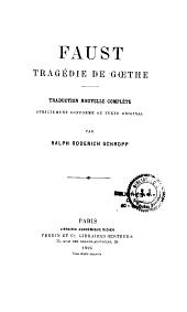 Faust, tragédie de Goethe