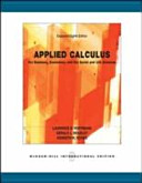 Applied Calculus for Business  Economics  and Social and Life Sciences PDF
