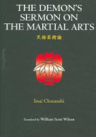The Demon s Sermon on the Martial Arts and Other Tales PDF