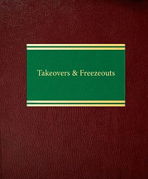 Takeovers And Freezeouts