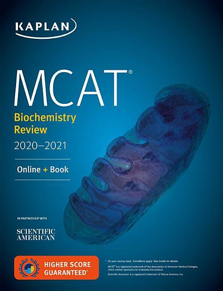 MCAT Biochemistry Review 2020 2021 PDF