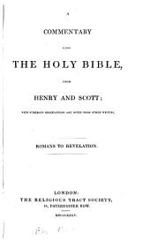 A commentary upon the holy Bible: Romans to revelation, Volume 6