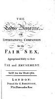 THE LADY S MAGAZINE OR ENTERTAINING COMPANION FOR THE FAIR SEX PDF