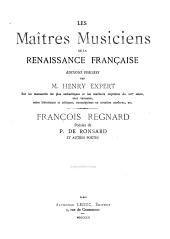 Poésies de P. De Ronsard et autres poètes