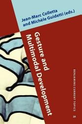 Gesture And Multimodal Development Book PDF