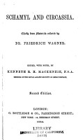 Schamyl and Circassia  Chiefly from dr  Wagner PDF