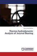 Thermo hydrodynamic Analysis of Journal Bearing PDF