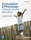 Articulation And Phonology In Speech Sound Disorders Book PDF