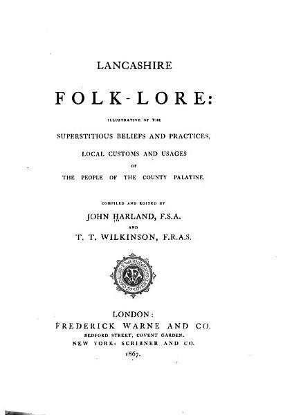 Lancashire Folk lore PDF