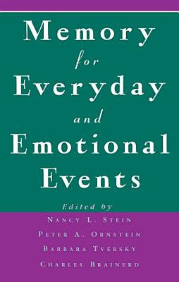 Memory for Everyday and Emotional Events PDF