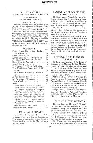 The Bulletin of the Metropolitan Museum of Art PDF