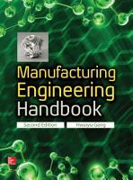 Manufacturing Engineering Handbook  Second Edition PDF