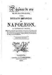 Las Páginas de oro de Sir Walter Scott, ó sea, Retrato imparcial de Napoleón: su enfermedad y muerte