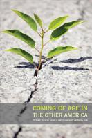 Coming of Age in the Other America PDF