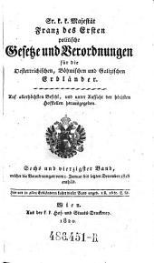 Welcher die Verordnungen vom 1. Januar bis letzten December 1818 enthält: Volume 46