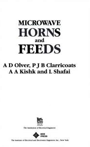 Microwave Horns and Feeds Book