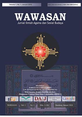 Wawasan  Jurnal Ilmiah Agama dan Sosial Budaya  Vol  1 No  1  2016  PDF
