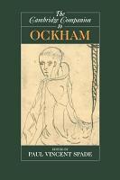 The Cambridge Companion to Ockham PDF