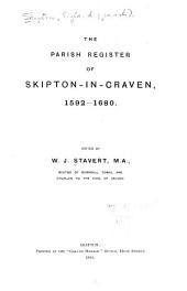 The Parish Register of Skipton-in-Craven: 1592-1680