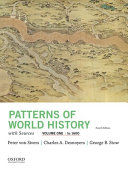 Patterns of World History  Volume One  to 1600  with Sources