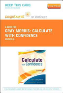 Calculate With Confidence Pageburst on Vitalsource Access Code PDF