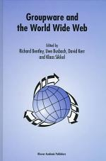 Groupware and the World Wide Web