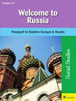 Welcome to Russia PDF