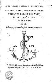 Le Epistole Famig. Di Cicerone