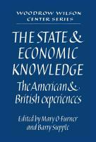 The State and Economic Knowledge PDF