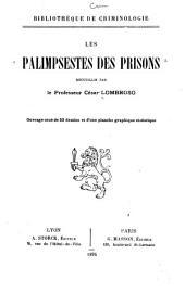 Palimpsestes des prisons recueillis