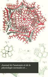 Journal de l'anatomie et de la physiologie normales et pathologiques de l'homme et des animaux: Volume10