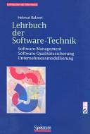 Lehrbuch der Softwaretechnik PDF